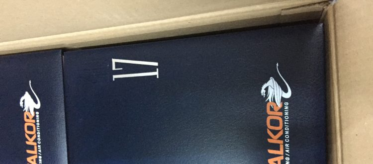 Agende personalizate prin serigrafie