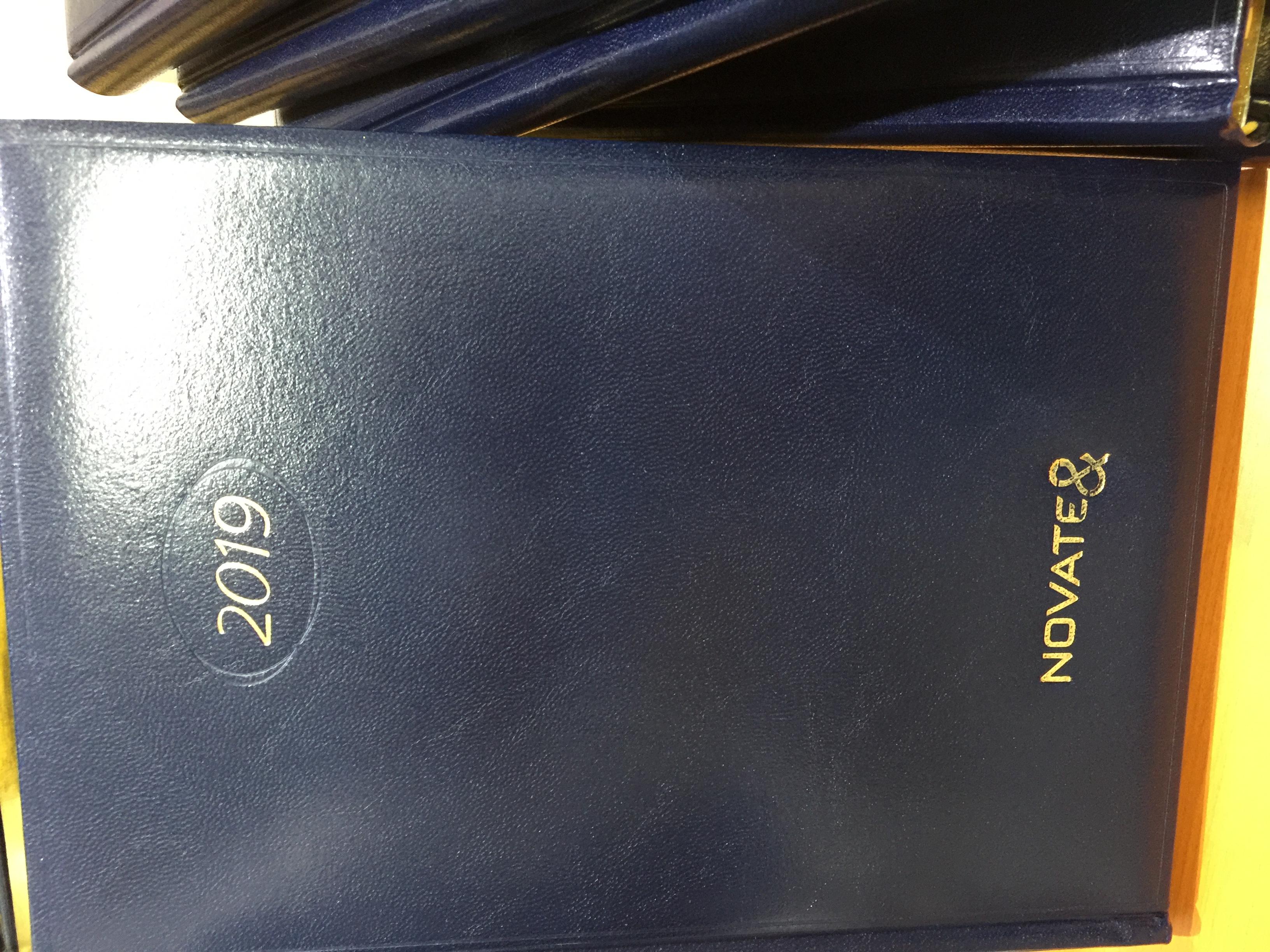 Agende personalizate cu folio auriu